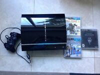 PlayStation 3 with 3 games