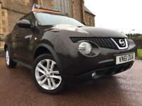*12 MTHS WARRANTY*2011(61)NISSAN JUKE 1.5 DCI ACENTA 4X4 SPORTS 5DR ONLY 24K FSH