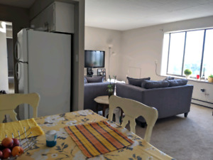 Spacious two bedroom 1.5 baths updated apartment