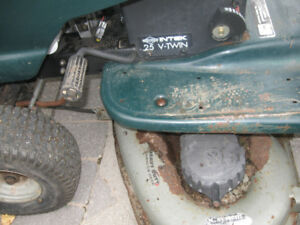 for sale craft man mower 25 hp v twin and others
