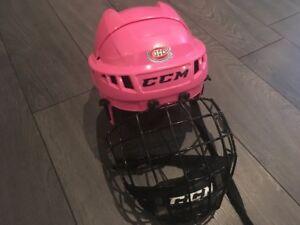 Casque de hockey pour enfant - fille