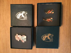 Anne of Green Gables jewellery.  1 brooch pin & 1 pr of earrings