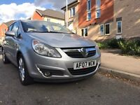 07/2007 VAUXHALL CORSA 1.2 SXI 5DR ALL DEBIT & CREDIT CARDS ACCEPTED £1795