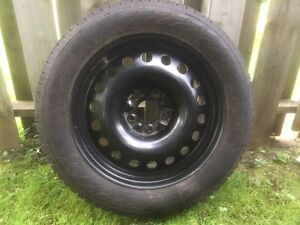 Hercules avalanche rg2 snow tires on 5x114 steels rims London Ontario image 1