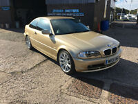 2000 BMW 318 1.9i Ci COUPE,ONLY 89300 MILES WITH COMPREHENSIVE SERVICE HISTORY.