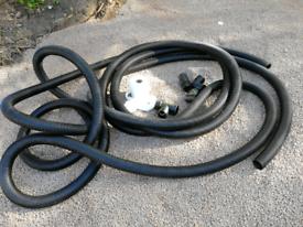 Garden drainage piping