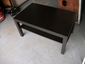 Smaller Wood Coffee Table