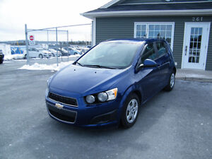 2013 Chevrolet Sonic 71,000 km, LOADED AND INSPECTED
