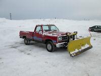 1989 Dodge Other Pickups d100 Pickup Truck YARD TRUCK