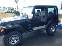 2003 Lifted Jeep TJ Rocky Mountain Edition