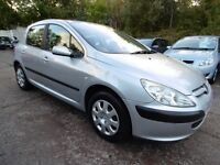 Peugeot 307 2.0 HDI 90 LX A/C (TIMING BELT CHANGED + BLUETOOTH) (aluminium/silver) 2002
