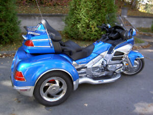 Honda Gold Wing 3 roues kit california 2012 -1800- 6 cylindres