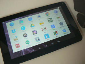 """9"""" hipstreet Android Tablet With built in HDMI condition is grea"""