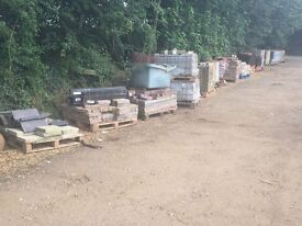 Massive clearance bricks, slabs, timber everything
