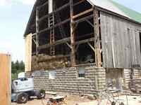 BARN REPAIRS, STEEL ROOFING AND EAVESTROUGHING FULLY INSURED