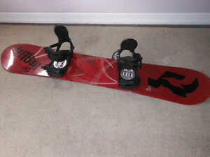 Ride Snowboard and LX Bindings - 155 cm by Ride