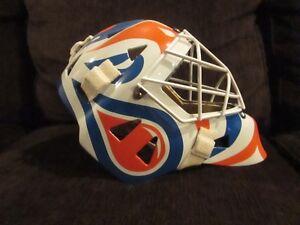 Eddy Custom Kevlar Goalie Mask with Oilers Paint Job Strathcona County Edmonton Area image 4
