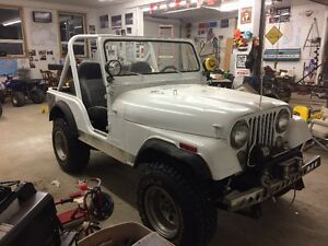 1980 Jeep CJ Convertible