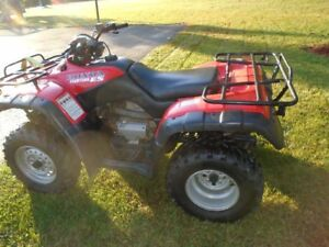 HONDA 4 X 4 FOURTRAX OVERALL EXCELENT CONDITION MUST SEE