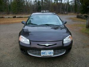 only 148 k   Chrysler Sebring Sedan