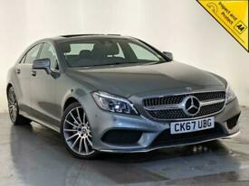 image for 2017 67 MERCEDES-BENZ CLS350 D AMG LINE PREMIUM AUTO SAT NAV SUNROOF SVC HISTORY