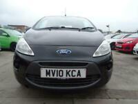 2010 Ford KA 1.2 STYLE PLUS 3d 69 BHP LOW MILES CHEAP INSURANCE Hatchback Petrol