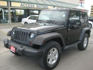 2011 Jeep Wrangler, Sport, Manual, Extra Clean, Quick Sale
