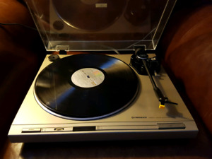 Pioneer Direct Drive Stereo Turntable Record Player
