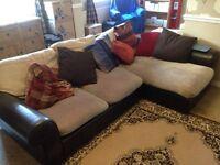 Free sofa with cushions