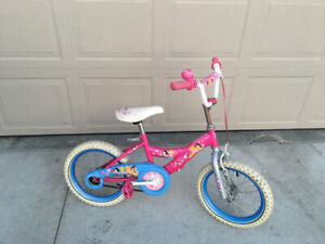 "Girls 16"" Disney princess bike"