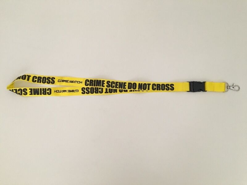 CrimeWatch lanyard