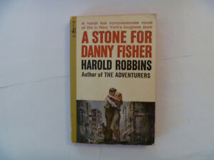 HAROLD ROBBINS - A Stone For Danny Fisher - 1953 Paperback