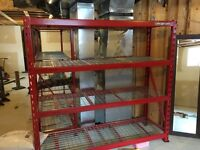 2 Industrial shelves - Snap On