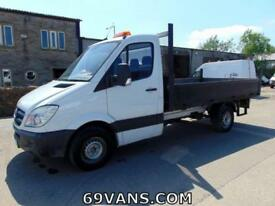 2010 10 MERCEDES SPRINTER, DROPSIDE, PICK UP, MWB, MASSIVE 130-BHP, FSH, 1 OWNER