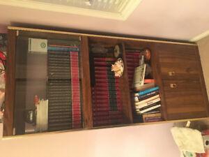 Wood book case