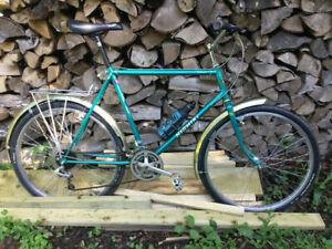 "Vintage ATB MTB Nishiki Barbarian Tange Cro-Mo Bicycle 21"" Deore"