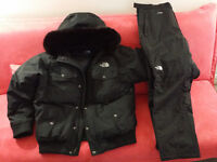 MANTEAU + PANTALONS NORTH FACE WINTER / HIVER (URGENT) XL