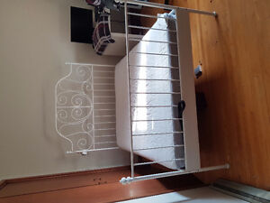 Ikea queen size bed with frame
