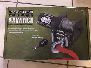 ATV winch  New, makes for a great Christmas gift.