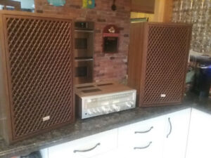 Vintage Sansui g4500 and sp 7100 speakers,will see seperate