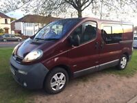 03 Vauxhall Vivaro 1.9 Dti 6 Speed