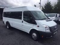 Ford TRANSIT 17 seaters only 21 k 2013 63 Reg 135 T430 RWD