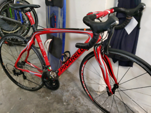RED PINARELLO 60.1 105 CARBON ROAD BIKE Kings Cross Inner Sydney Preview