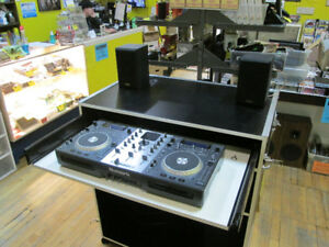 Custom Portable DJ Booth For Sale at Nearly New!