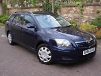 EXCELLENT DIESEL ESTATE!! 56 REG TOYOTA AVENSIS 2.0 TD 6 SPEED COLOUR COLLECTION