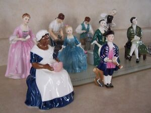 ROYAL DOULTON COLONIAL WILLIAMSBURG COLLECTION
