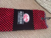 St Andrews Old Course Bag Towel. New never used.