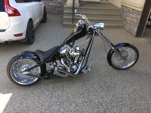 2003 Cycle Boyz Custom Chopper.    TRADES CONSIDERED