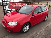 2007 (56) VW GOLF TDI MATCH, 1 YEAR MOT, SERVICE HISTORY, WARRANTY