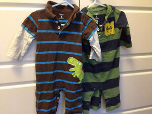 Size 6-12mos Boys (Fall/Winter) Lot - $35